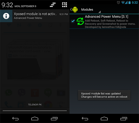 xposed notification