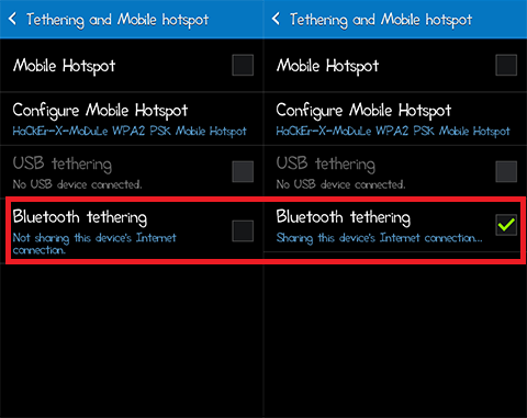 android as modem-bluetooth tethering options