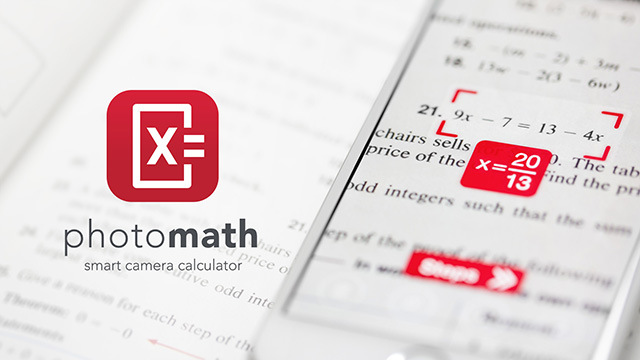 photomath camera calculator