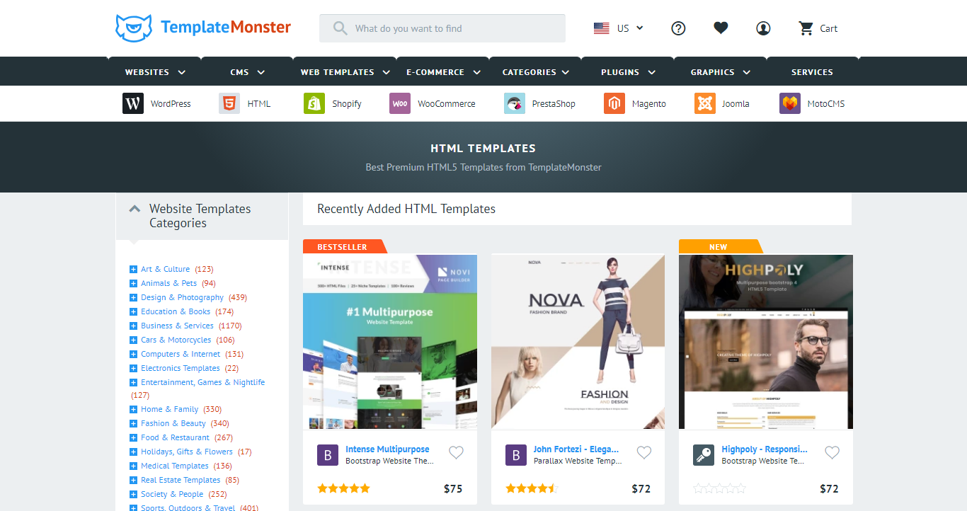 Download Html Website Templates That Suits Your Need Tech2hack