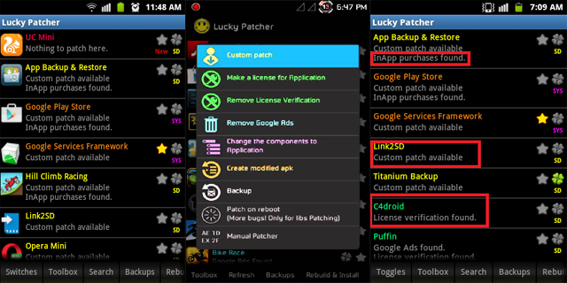 hack in app purchase lucky patcher